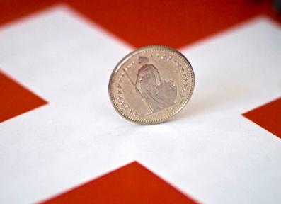 ABN AMRO : Franc Swiss Kemungkinan Menurun di Tahun 2018