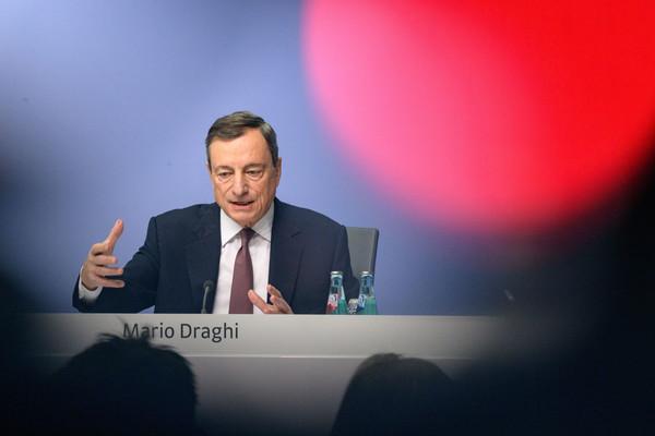 Draghi ECB: Outlook Ekonomi Euro Semakin Kuat