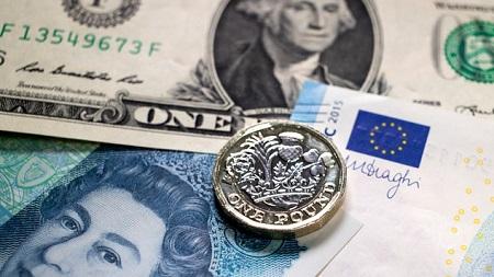 Poundsterling Melemah Terbentur Inflasi Inggris