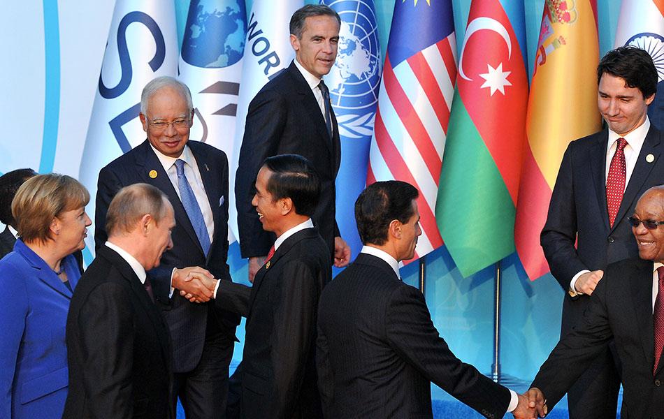 Joko Widodo Khawatirkan AS dengan Cina Di G20
