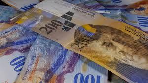 Franc Swiss CHF Anjlok Akibat Laju Perekonomian